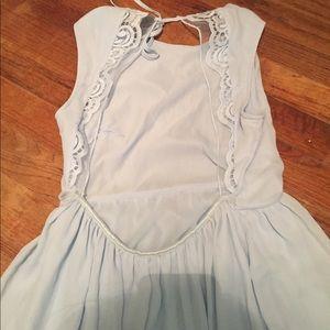 Light blue H&M dress